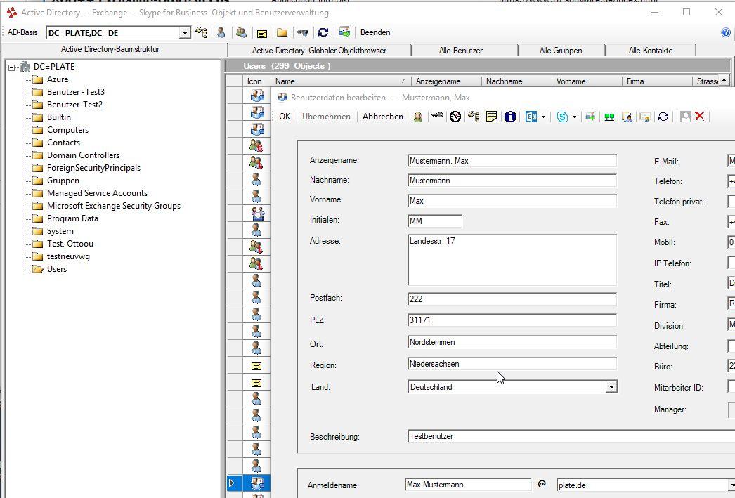 ADO++ Exchange-Office365 User Management